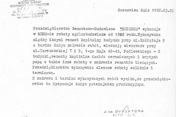 Sosnowiec, 09.03.1993