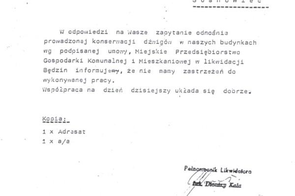 Będzin, 10.09.1992